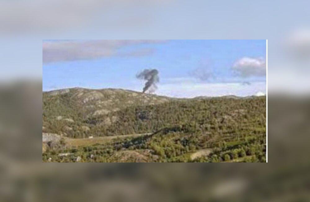 Põhja-Norras kukkus alla helikopter, pardal oli kuus inimest