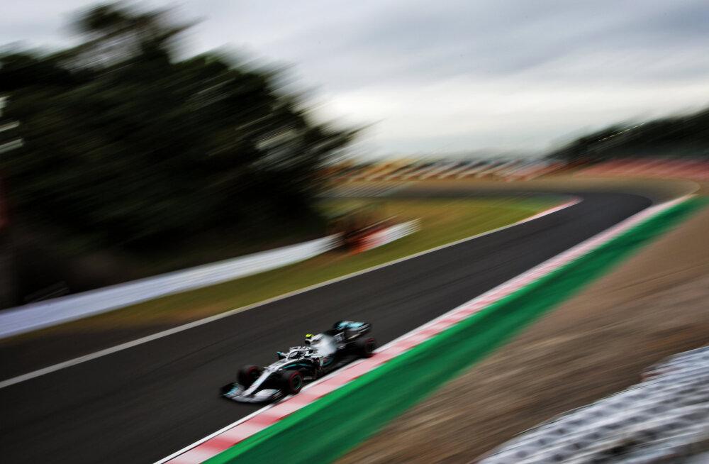 Mercedesed domineerisid Jaapani GP vabatreeninguid, kvalifikatsioon toimubki pühapäeval