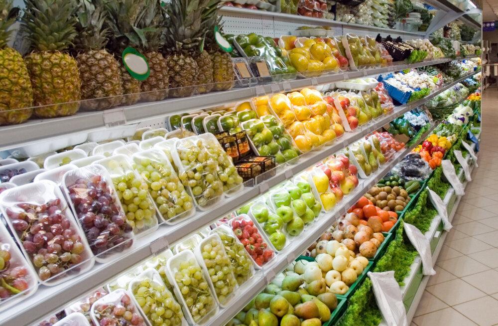 Prantsusmaa keelustas poekettidel toidu raiskamise