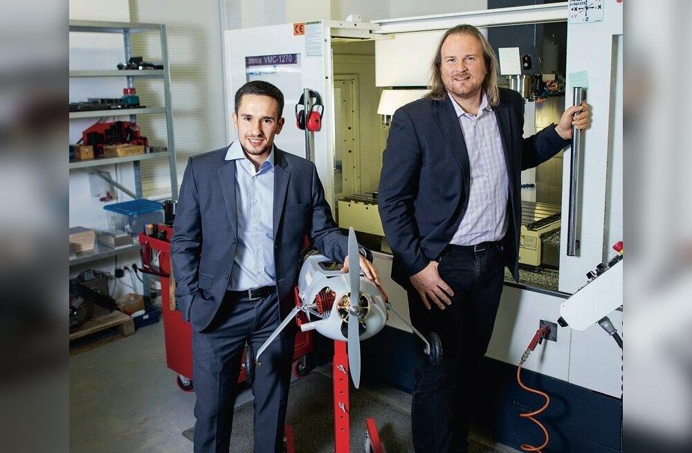 Tiit Paananen juhib Läti UAV Factory't.