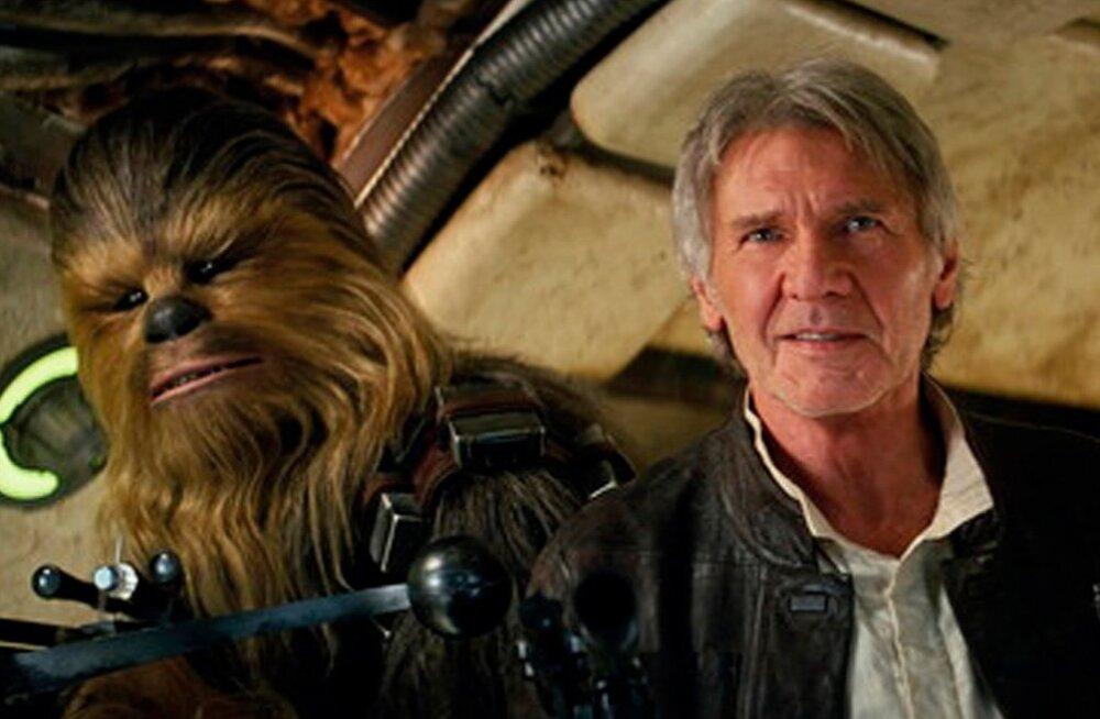 """Harrison Ford teenib rolli eest uues """"Star Warsi"""" filmis 76 korda enam kui ta kaasnäitlejad"""