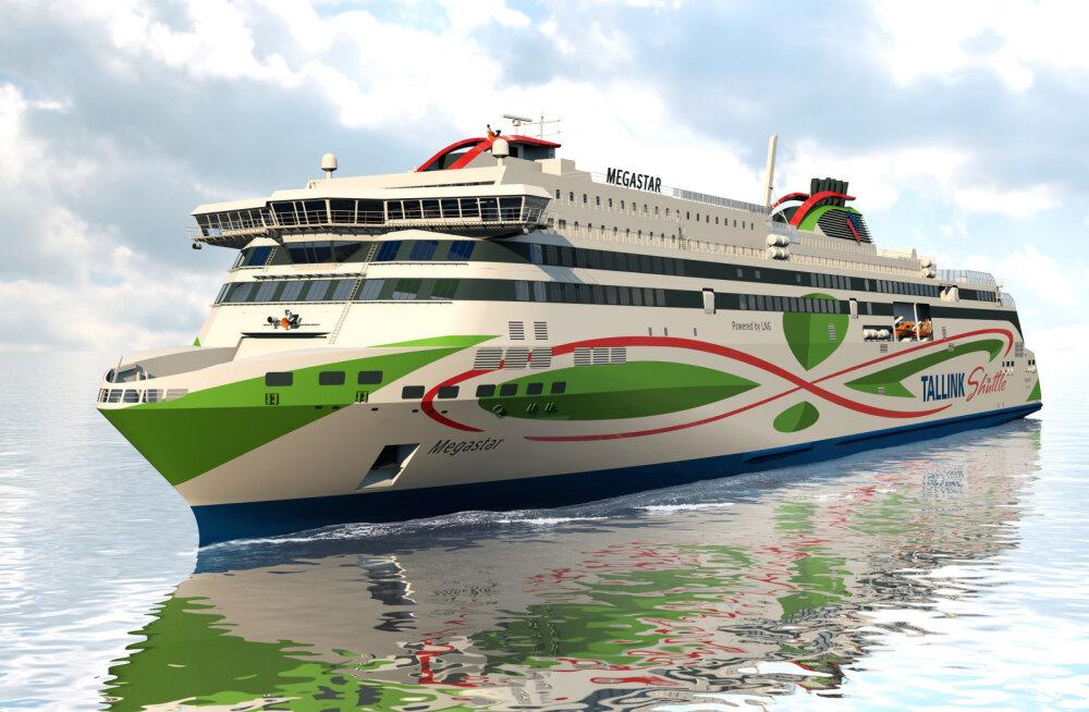 Avati piletimüük Tallinki uhiuue laeva Megastari reisidele