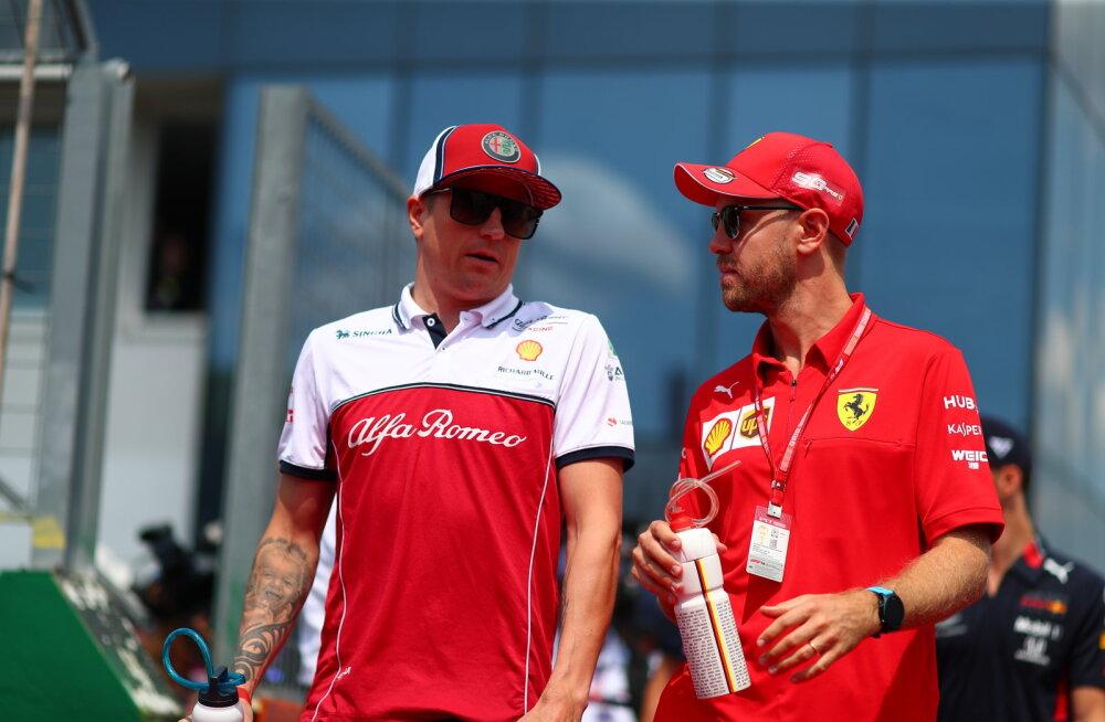 Kimi Räikkönen: s*tt punktiseis ei peegelda meie tõelist taset