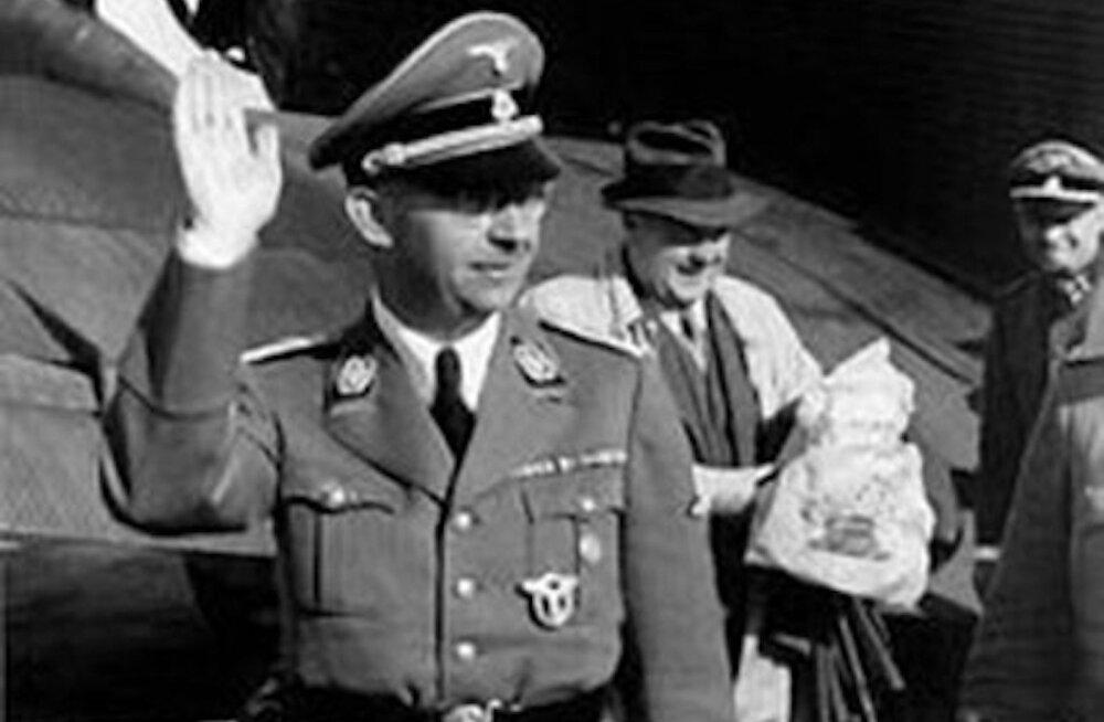 Himmler ja Kersten 1942. aastal Tallinnas