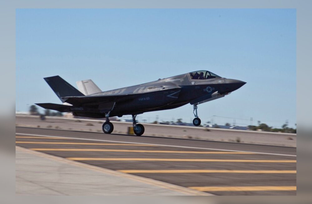 Pentagon kehtestas hirmkallitele F-35 hävituslennukitele lennukeelu