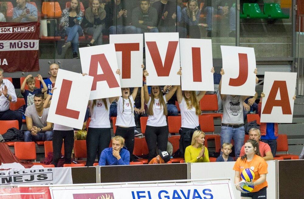 Eesti vs Läti võrkpall 01.10.2016
