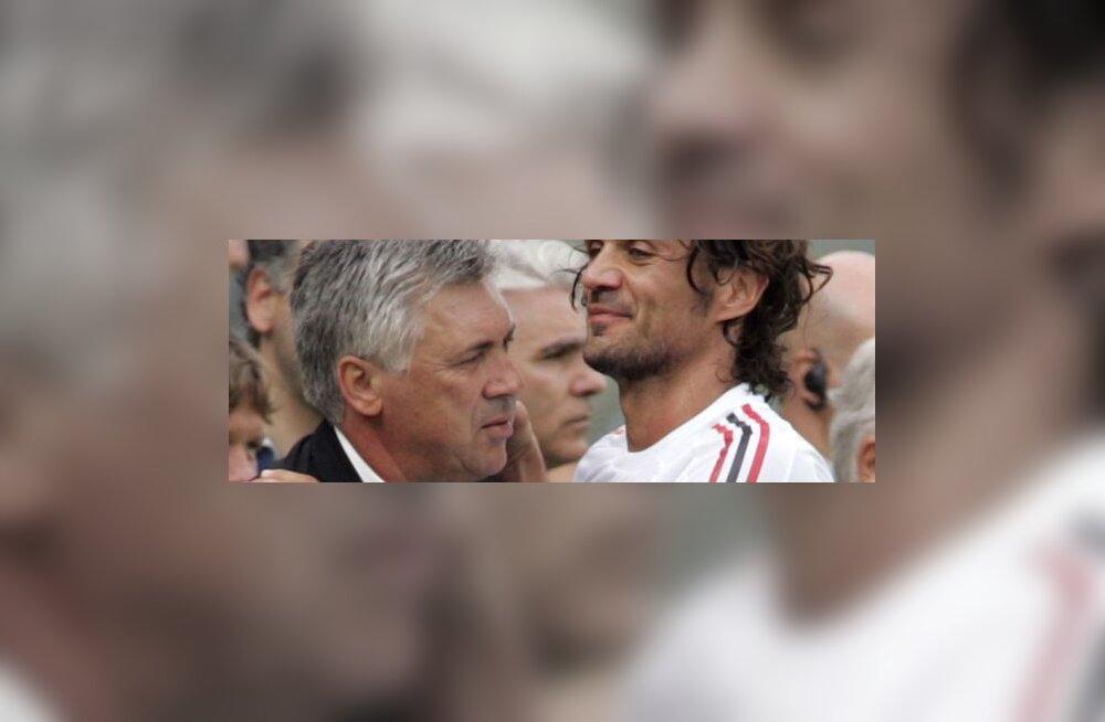 Carlo Ancelotti ja Paolo Maldini