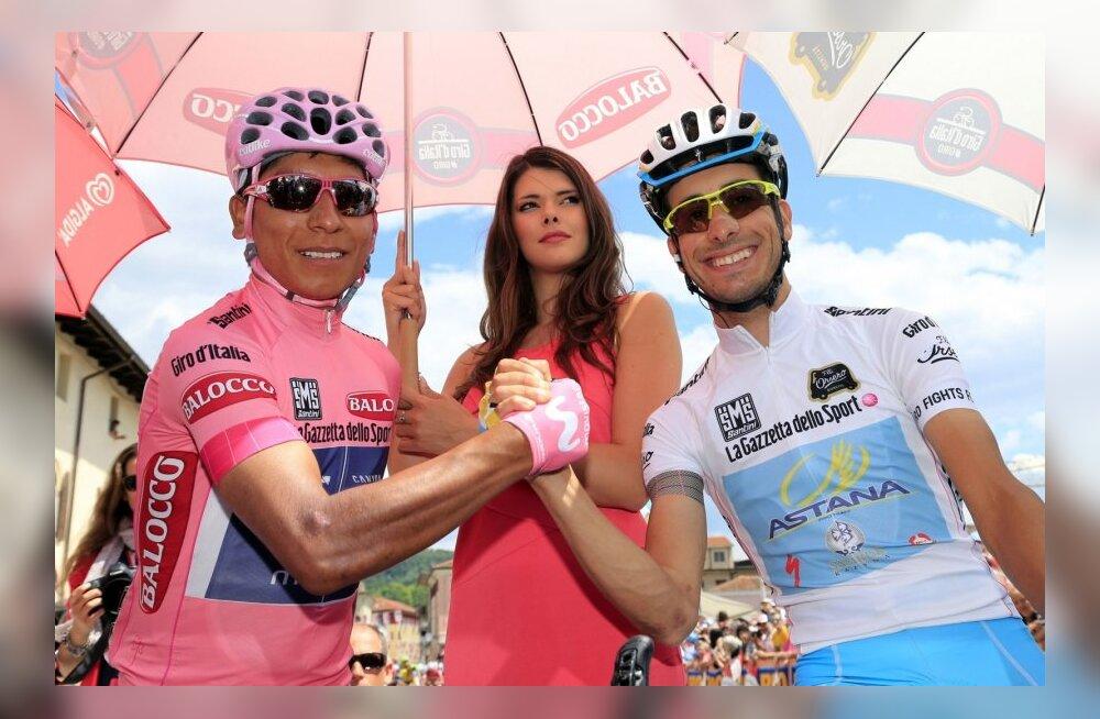 Tänavu Girol säranud Nairo Quintana ja Fabio Aru