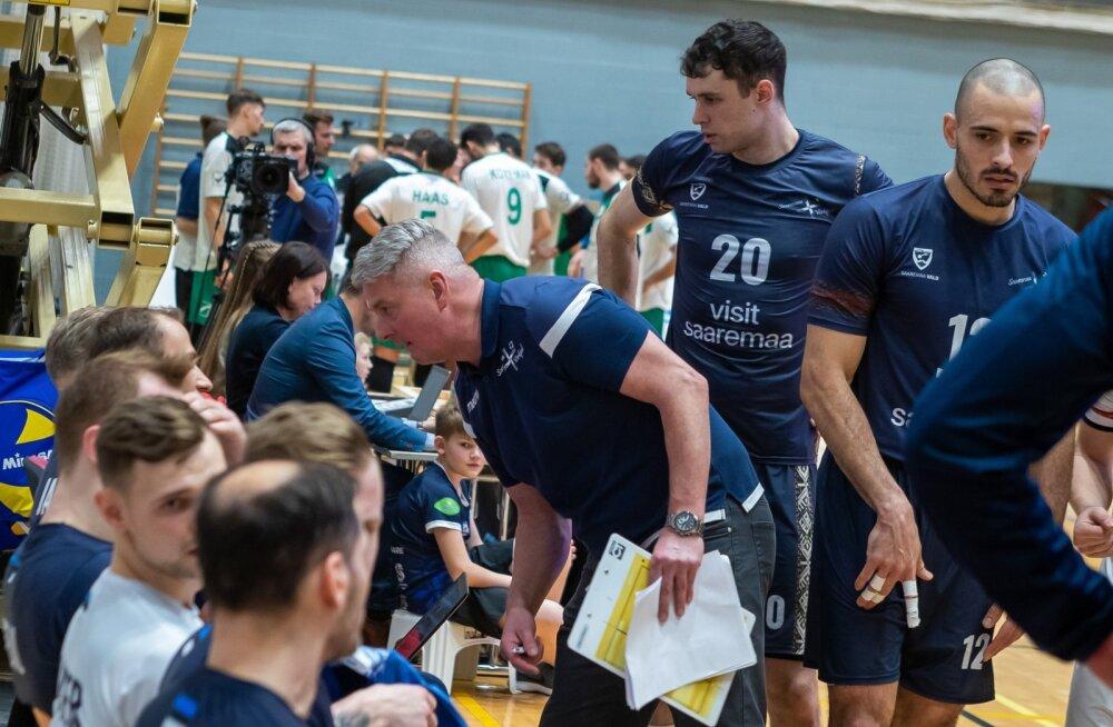 Challenge Cupi 1/16-finaali esimeses kohtumises alistas Saaremaa Võrkpalliklubi 3:1 Iisraeli meeskonna Kfar Saba Hapoeli