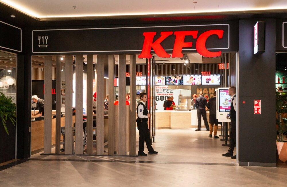 Kristiine keskuses avati juba teine KFC restoranKristiine keskuses avati juba teine KFC restoran