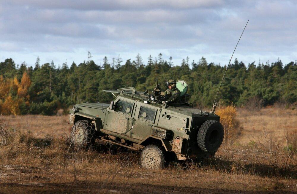 Rootsi kaitseväelt varastati kaks soomusmaasturit