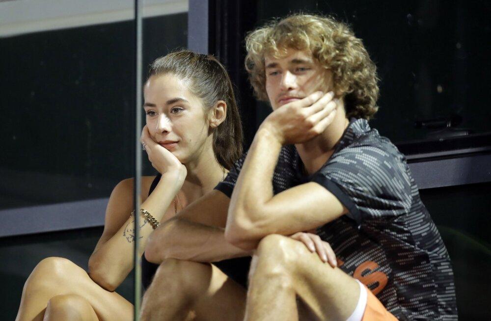 Brenda Patea ja Alexander Zverev