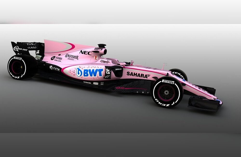 Force India uus vormel