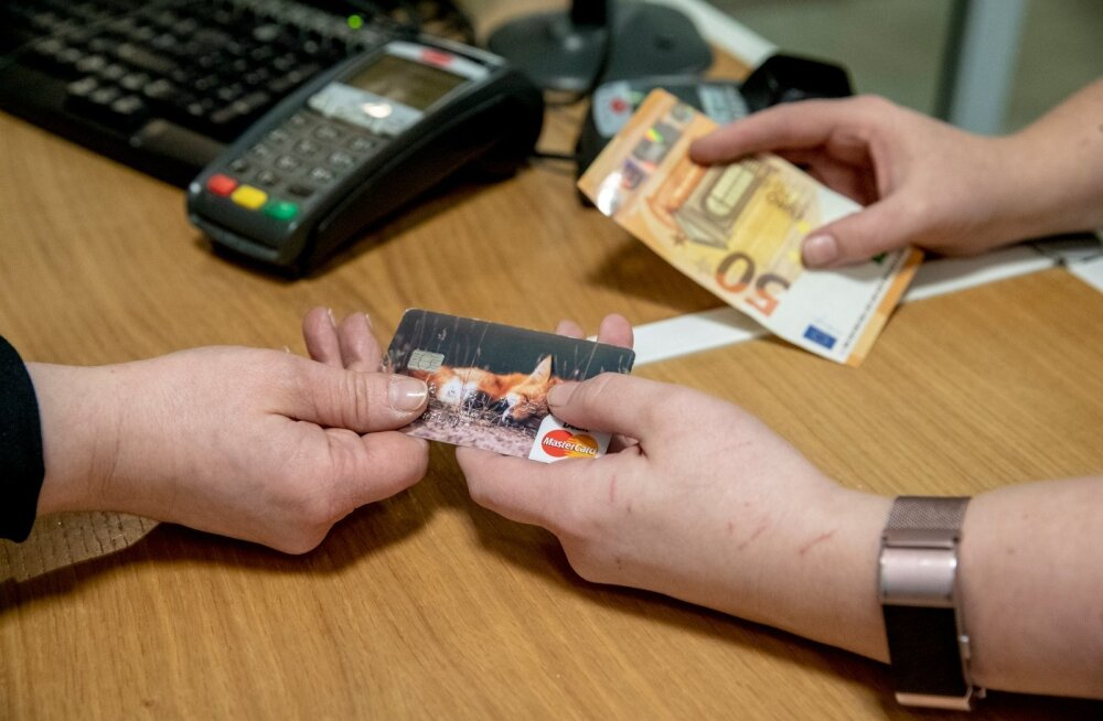 Sularaha-ja kaardimakse