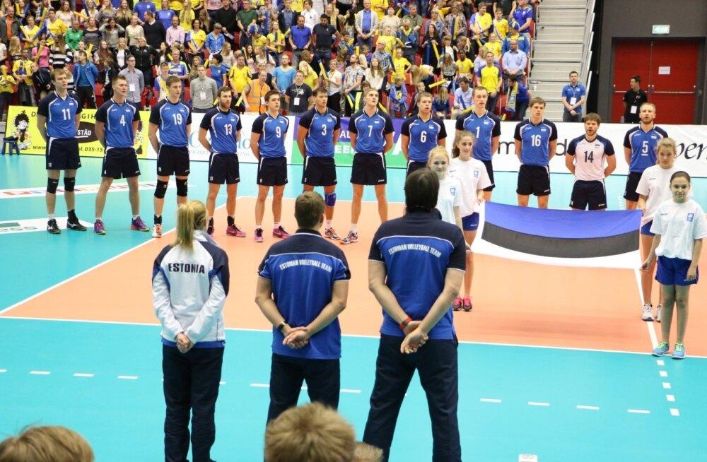 Rootsi - Eesti võrkpall