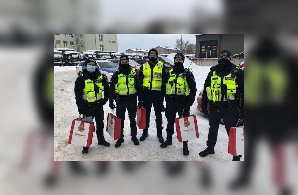Politsei tunnustas Männiku hooldekodu põlengul elusid päästnud politseinikke