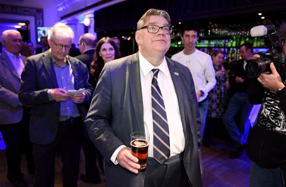 Soome kohalikel valimistel sai enim hääli koonderakond, suurimad kaotajad olid Põlissoomlased
