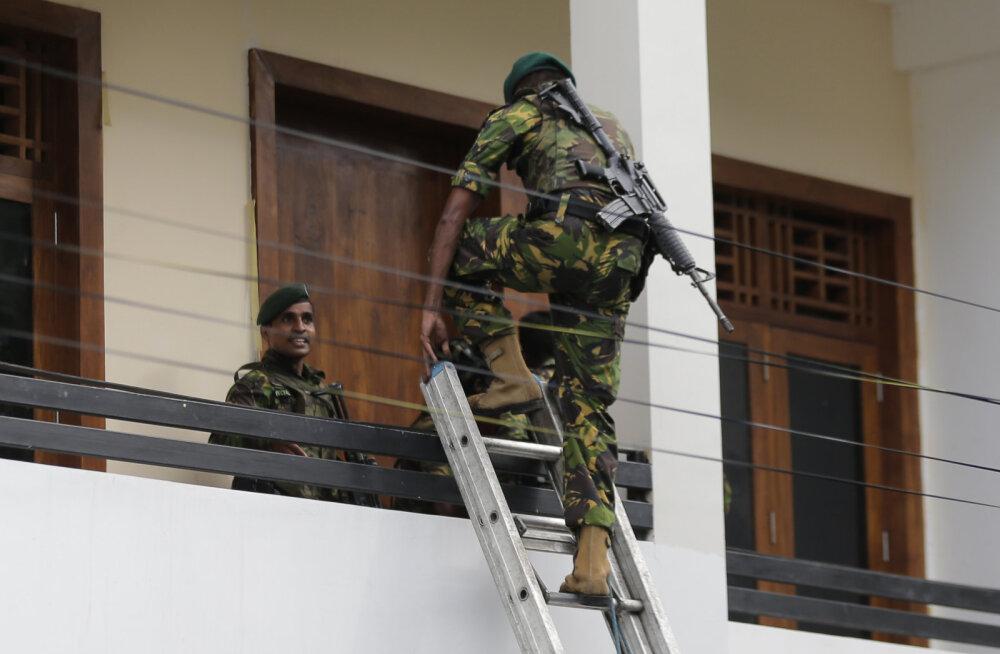 Sri Lanka terror: rase naine lasi end koos kolme lapsega õhku, kui politsei saabus