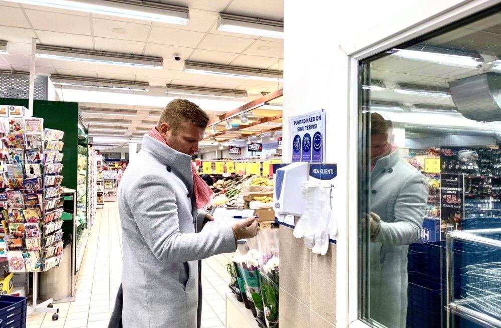 Жители Мустамяэ пожаловались в управу на магазины. Старейшина проверил ситуацию