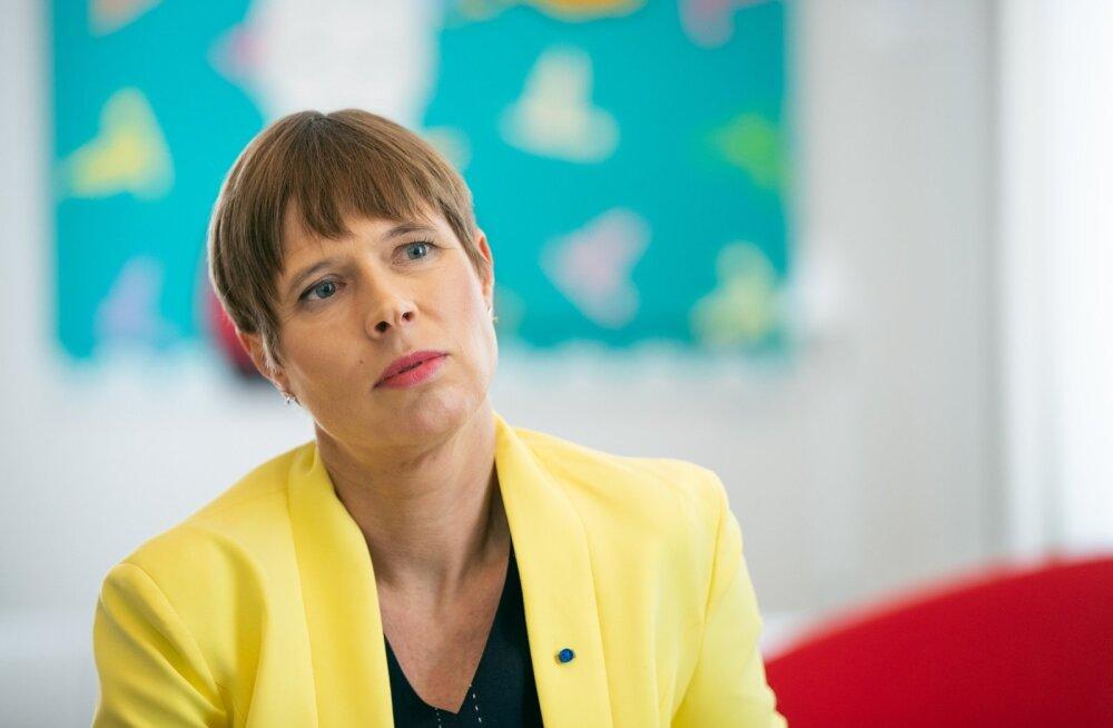 Päevalehe intervjuu Kersti Kaljulaidiga