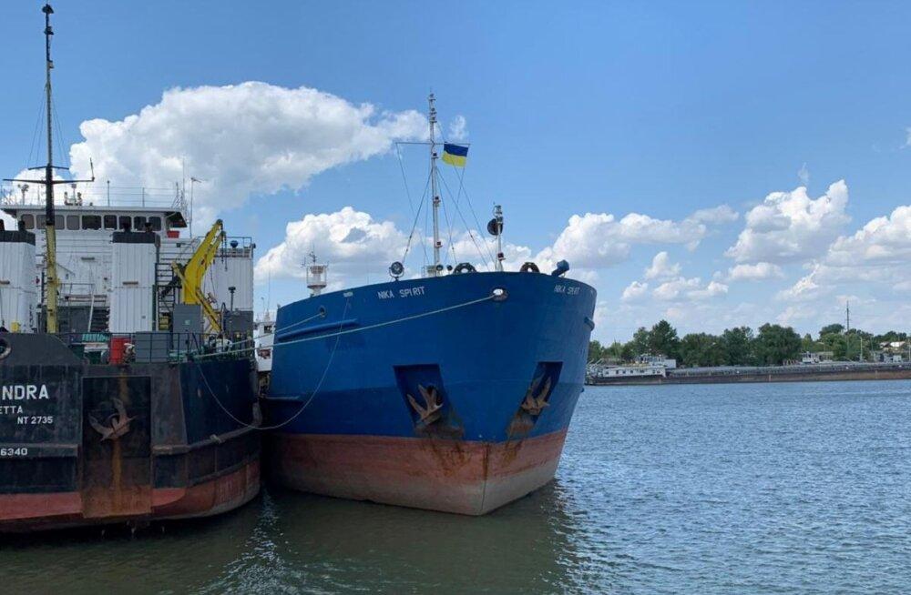Ukraina hõivas ja otsis läbi Vene laeva