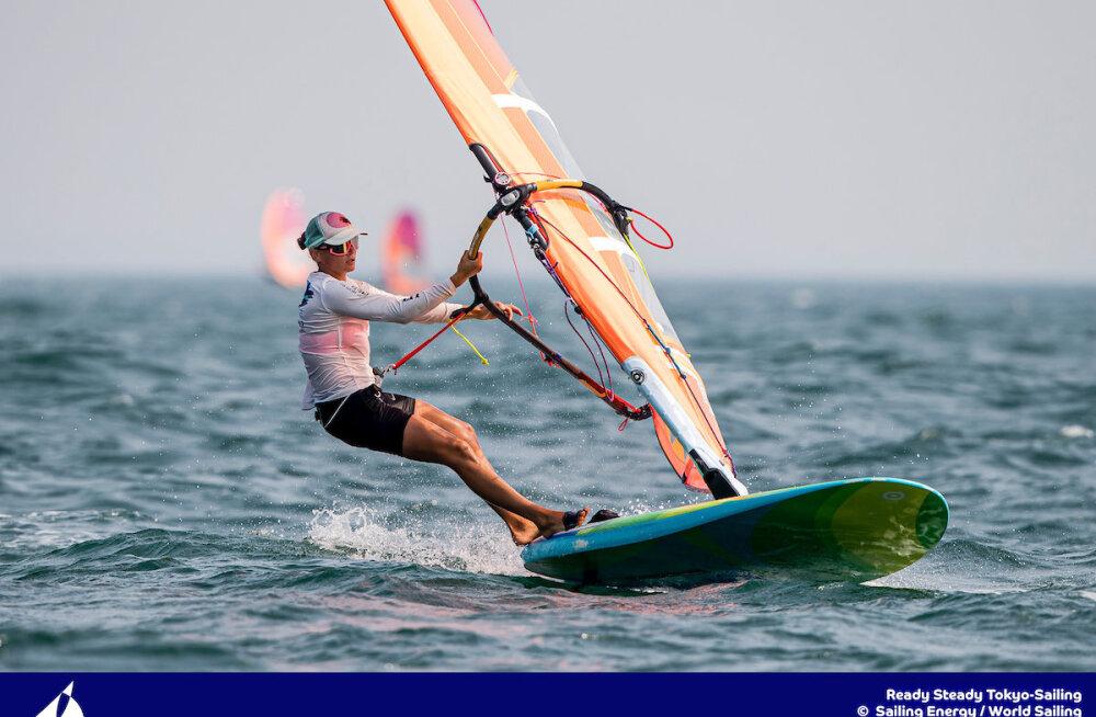 Puusta purjetab homme eel-Olümpia medalisõidus