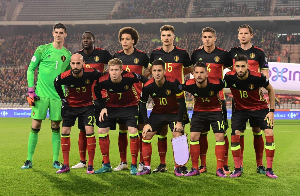 Belgia koondis teatas staaridest kubiseva koosseisu mänguks Eestiga