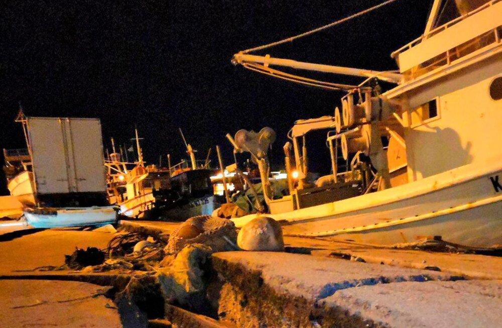Kreekat raputas võimas maavärin, mis aga suuri probleeme ei tekitanud