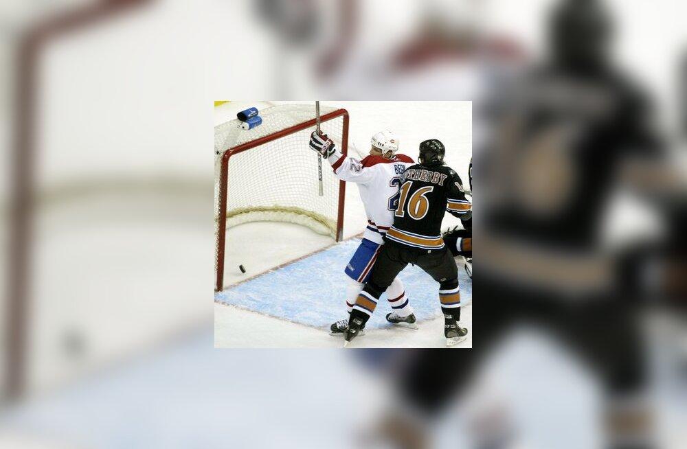 Montreal Canadiens on visanud Washingtoni vastu värava