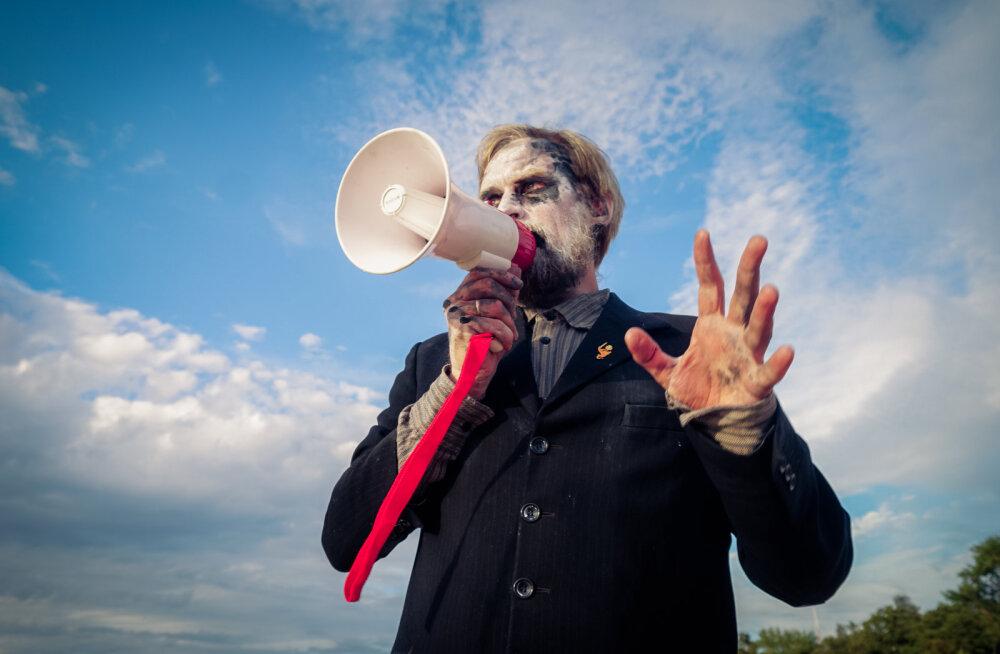"""""""Долой антропоцентризм!"""" На экофестивале в Нарва-Йыэсуу активисты пошатнули трон человека"""