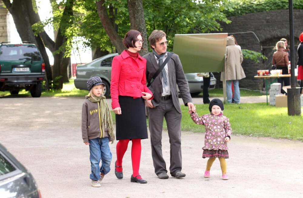 Jaak Kilmi perekonnaga