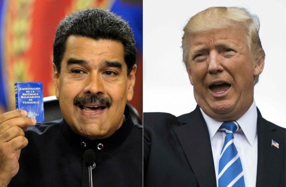 AP: Trump kibeles mullu sõjaväega Venezuelasse sisse tungima