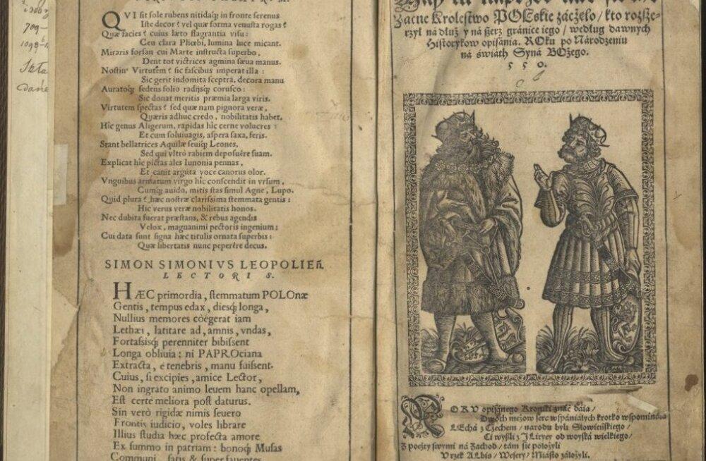 Tallinna linnamuuseumi arhiivis peitus haruldane 439-aastane raamat