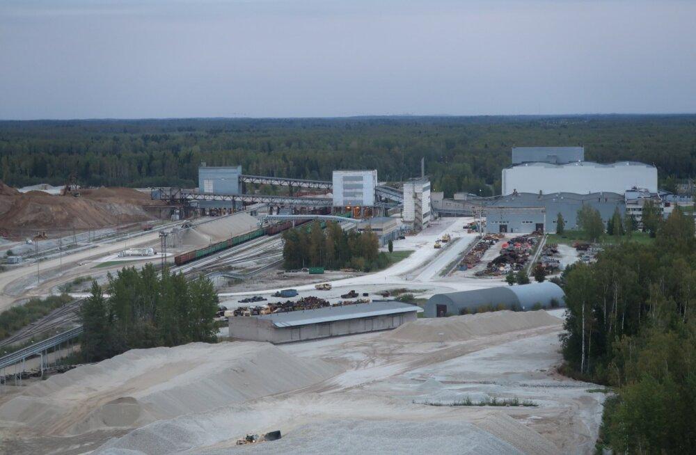 Eesti Energia Estonia kaevandus laotub maa all umbes Tallinna suurusele alale.