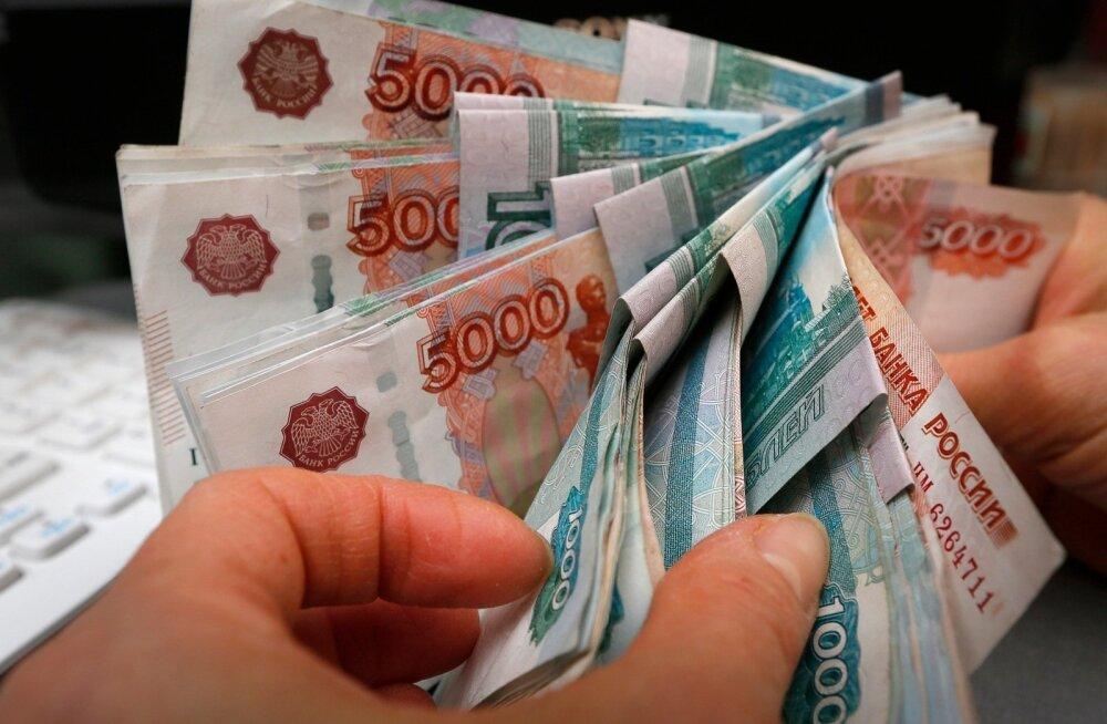 Venemaa keskpank trükib juurde triljon rubla