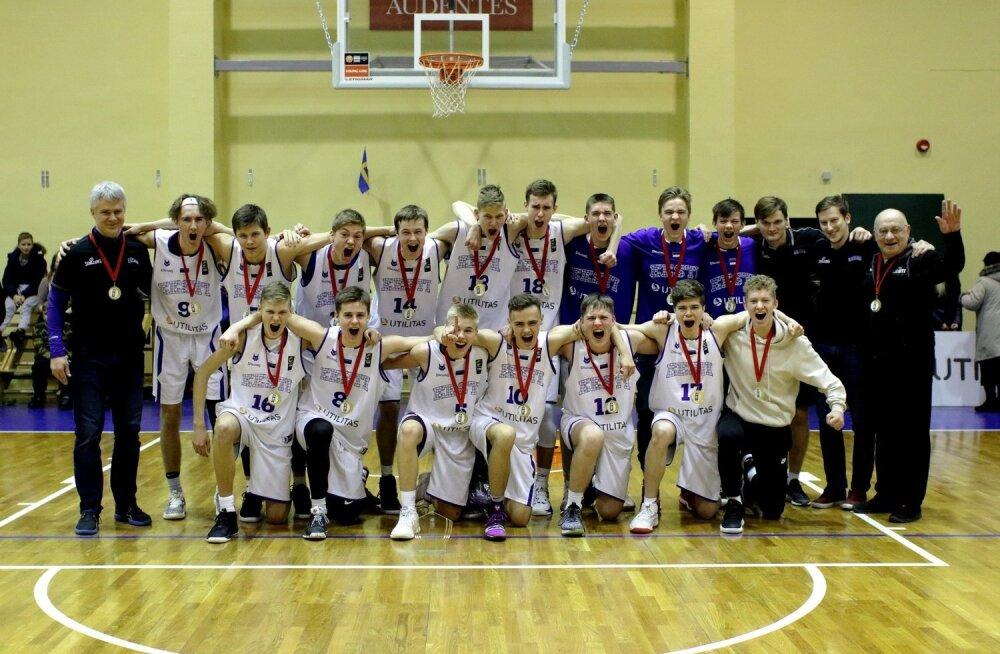 Võidukas U16 korvpallikoondis
