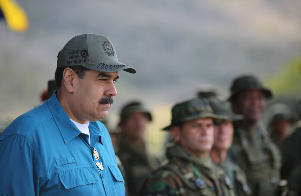 Мадуро заявил о благодарности Путину