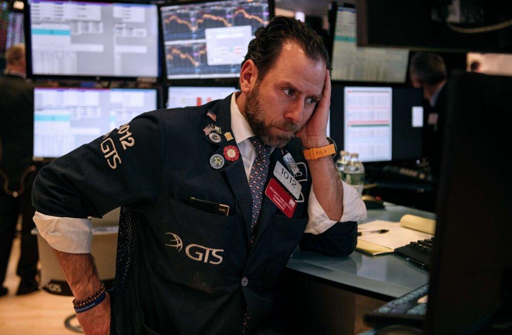 Koroonaviirus toob börsidele halvima nädala pärast suurt finantskriisi. Juba on tunda paanikamüüke