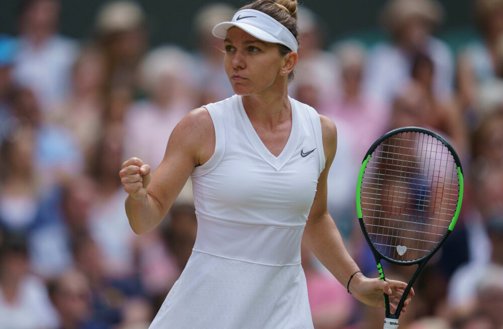 Rumeenia tennisetäht Wimbledoni ärajäämisest: vähemalt saan olla kaks aastat valitsev meister