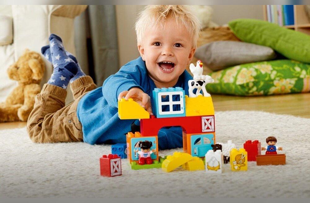 Legod on rõõmuks nii lastele kui ka täiskasvanutele