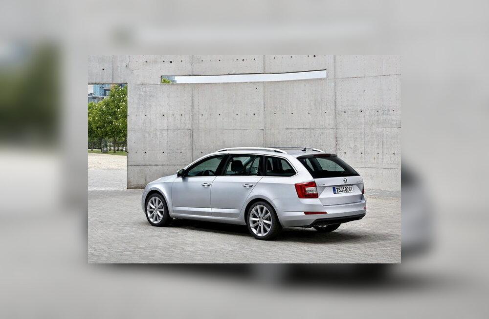 Škoda avaldas esimesed fotod uuest universaalkerega Octaviast