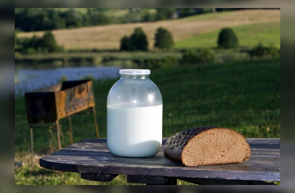 Hesburger pakub Eesti päritolu piima ja leiba