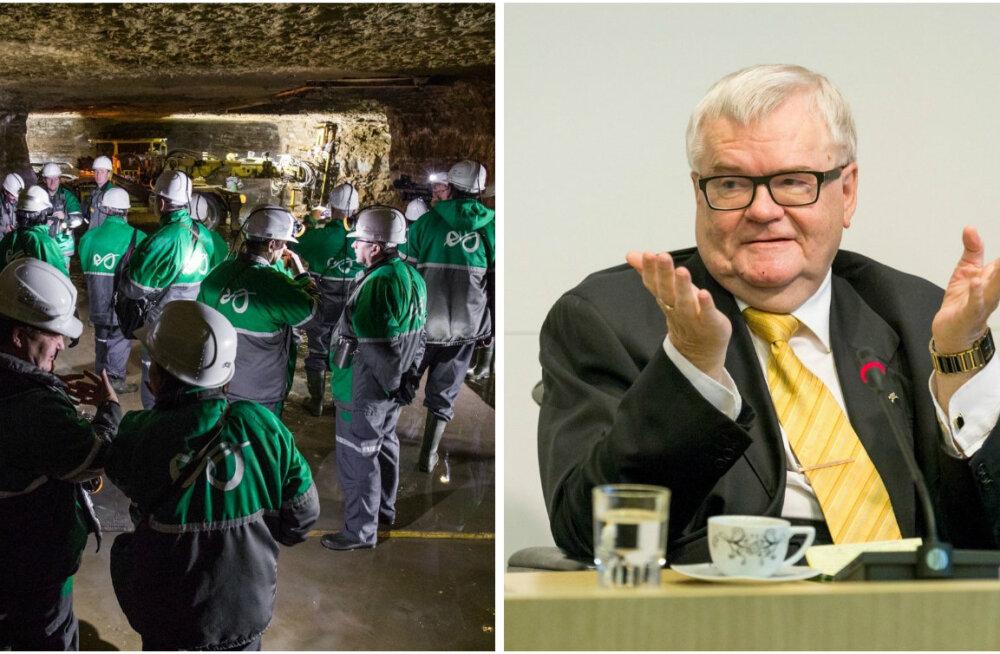 """ГЛАВНОЕ ЗА ДЕНЬ: Задержанные руководители шахты """"Эстония"""" и новая должность Сависаара"""