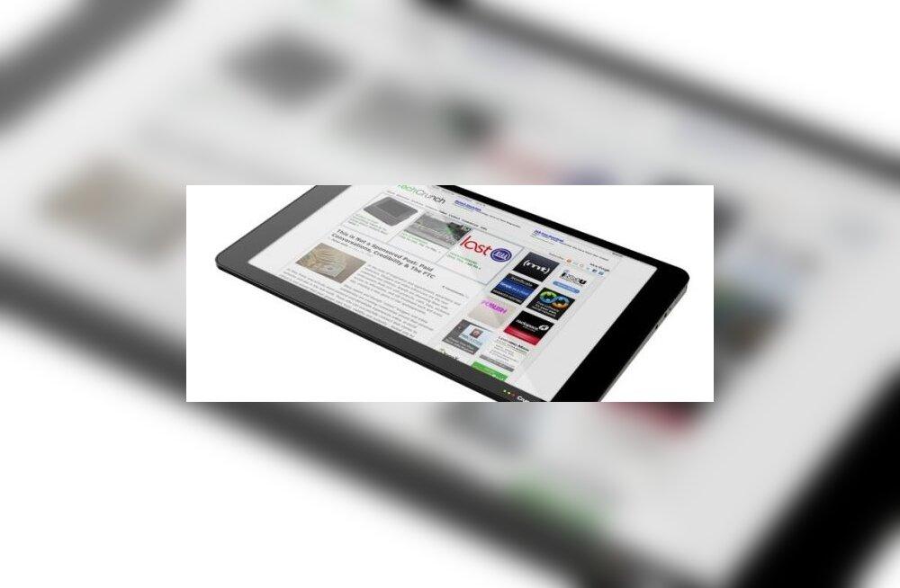 Tehnoloogiablogi toob turule oma tahvelarvuti