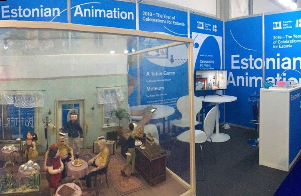 EV100 juubeliprogramm tõstis Eesti animavaldkonna esile Annecy filmifestivalil