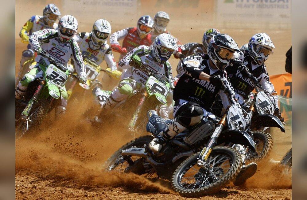 Sõmerpalu motokrossil stardib maailmameister