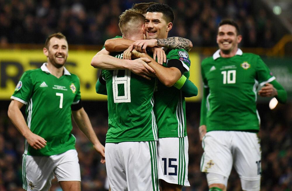 Eesti jalgpallikoondise järgmine vastane Põhja-Iirimaa avalikustas esialgse koosseisu