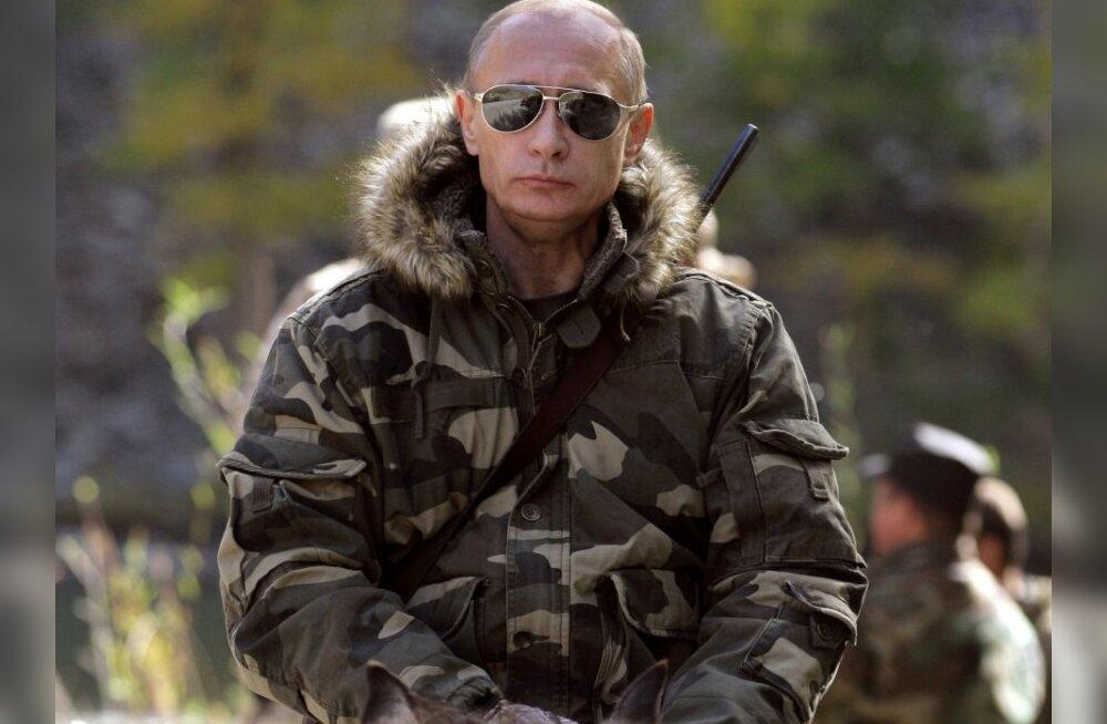 FOTOD: Machomees Vladimir Putin tegutseb jälle!