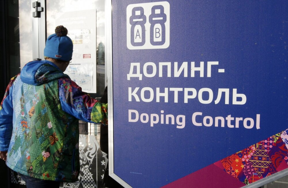 Sotši taliolümpia dopingukontroll