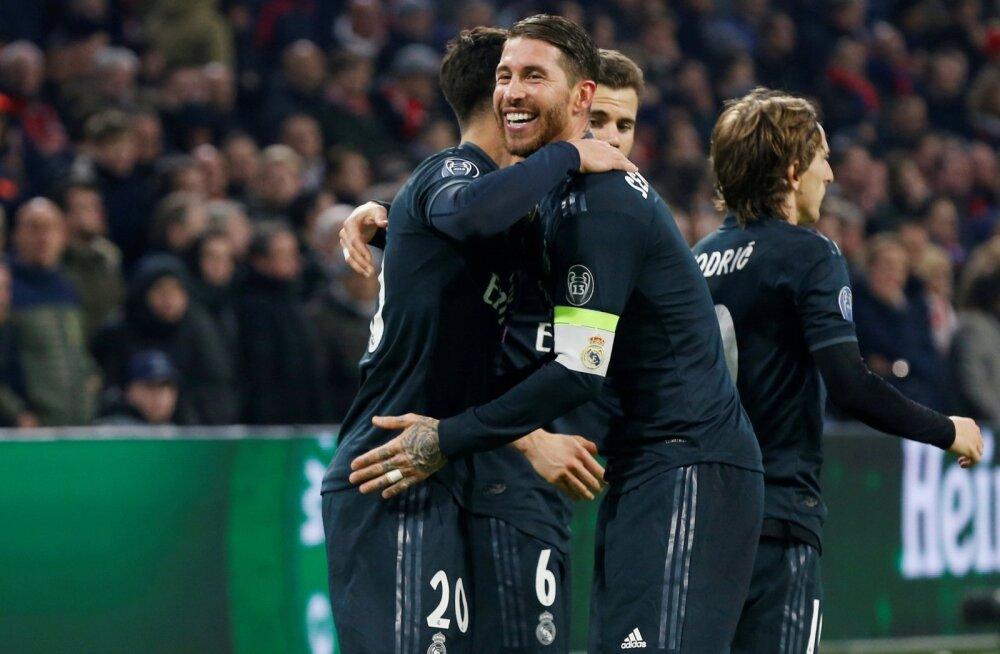 Sergio Ramos võis kohtumise järel veel rõõmustada, kuid nüüdseks on tema tuju juba tumedamates toonides.